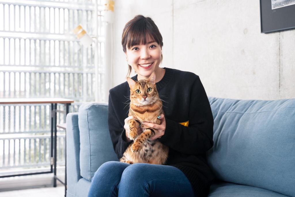 「すべては、猫様のために。」猫の⽣活をテクノロジーで⾒守るCatlog®(キャトログ)_インタビューイー