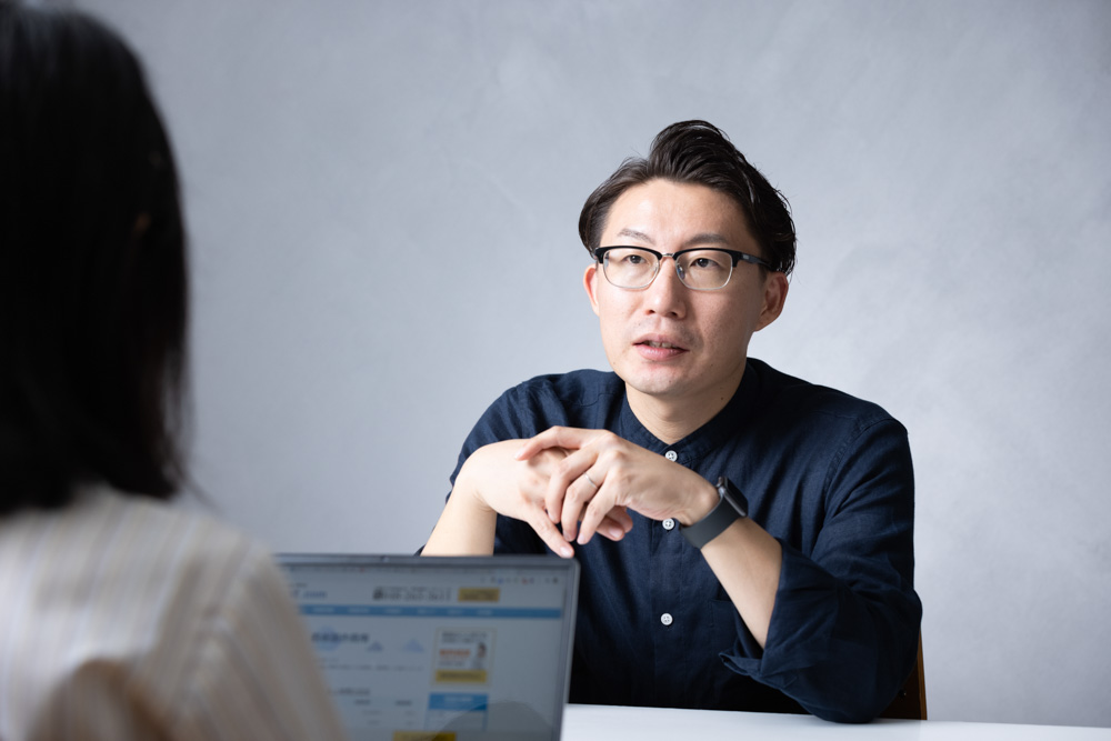 岐阜発・サブスク型 工数・業務管理ツールPaceが生み出す「地方の未来をおもしろくする」顧客体験(CX)_インタビュー風景1
