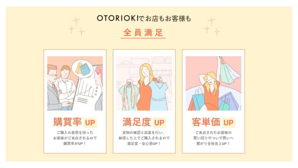 OTORIOKI -お取り置き-で実現するウィズコロナ時代の新しい買い物スタイルと顧客体験(CX)_満足